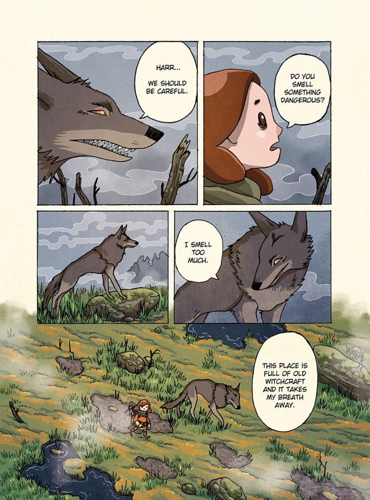 Massu, Blacksmith's Daughter – chapter 5, page 2